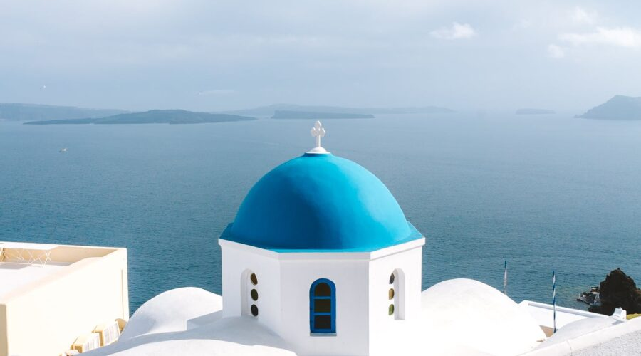 cycladic church